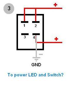how to wire 4 pin led switch 4 pin led switch wiring. Black Bedroom Furniture Sets. Home Design Ideas